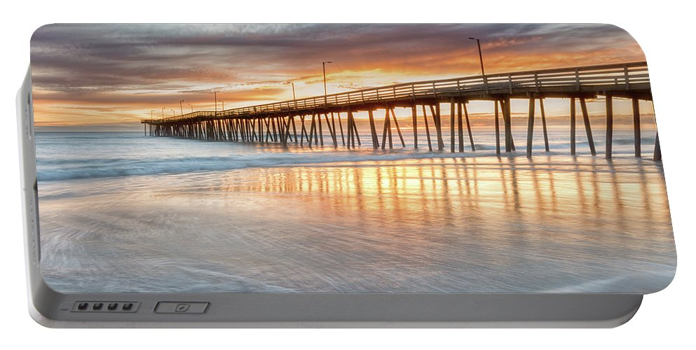 Seascape Portable Battery Charger featuring the photograph Choiceless Beauty by Russell Pugh