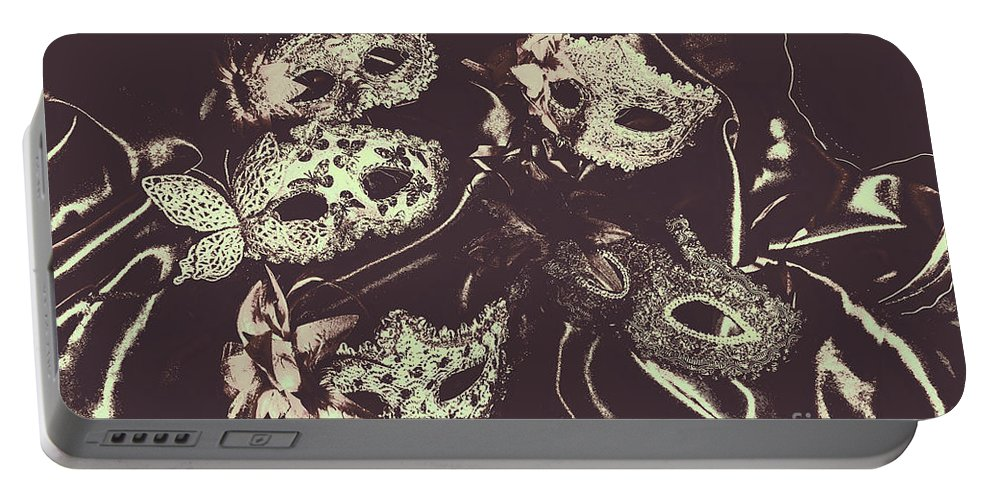 Classical Portable Battery Charger featuring the photograph Classic Theatrics by Jorgo Photography - Wall Art Gallery