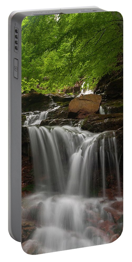 Rapid Portable Battery Charger featuring the photograph Cold River by Evgeni Dinev
