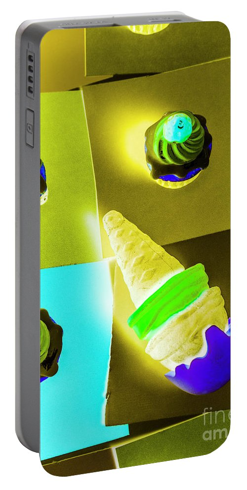 Food Portable Battery Charger featuring the photograph Dairy Design by Jorgo Photography - Wall Art Gallery