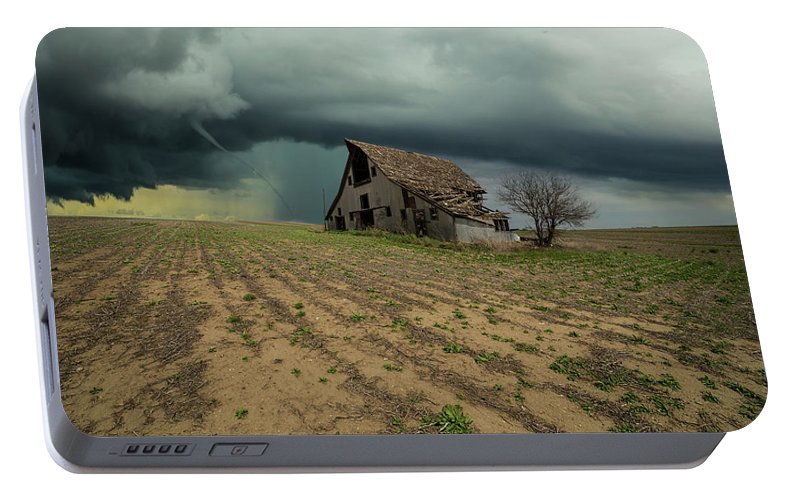 Tornado Portable Battery Charger featuring the photograph Doomsday by Aaron J Groen