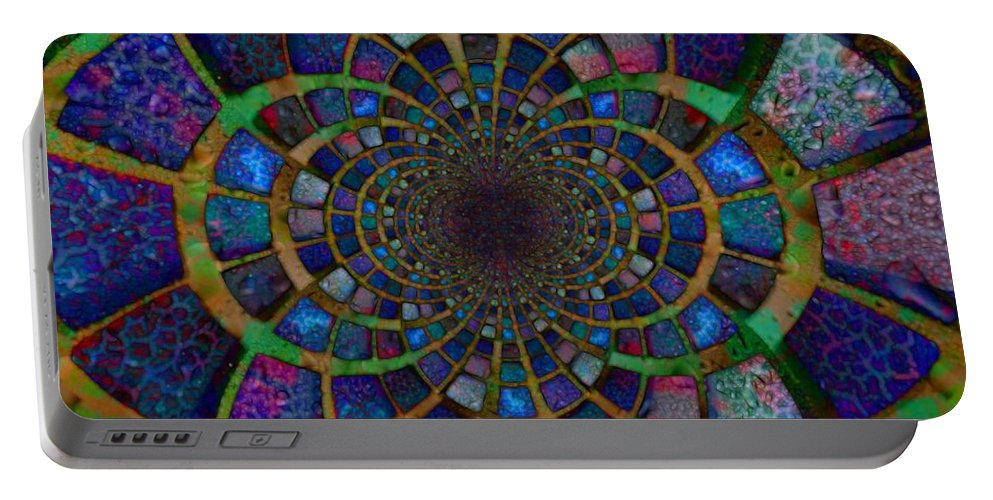Water Portable Battery Charger featuring the digital art Estuarial by Nick Heap