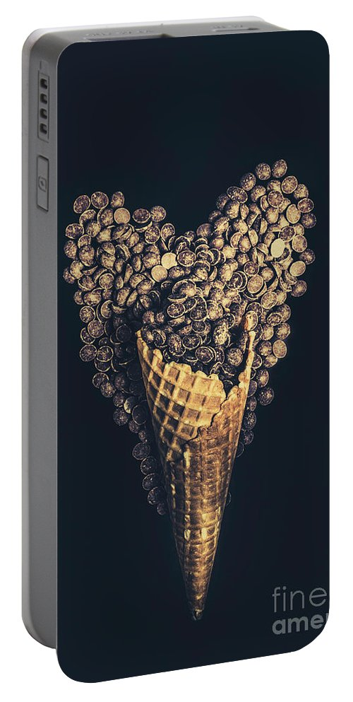 Chocolate Portable Battery Charger featuring the photograph For A Sweetheart by Jorgo Photography - Wall Art Gallery