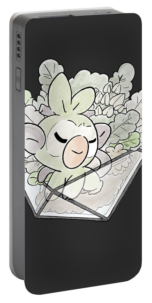 Galar Grass Starter Team Grookey Portable Battery Charger For Sale By Andrea Scorbunny, grookey and sobble are the representatives for the region of galar. pixels
