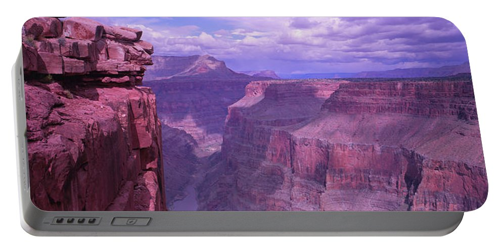 Photography Portable Battery Charger featuring the photograph Grand Canyon, Arizona, Usa by Panoramic Images