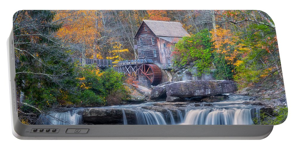 Iconic Portable Battery Charger featuring the photograph Iconic by Russell Pugh