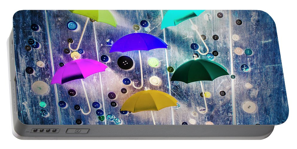 Artwork Portable Battery Charger featuring the photograph Imagination Raining Wild by Jorgo Photography - Wall Art Gallery
