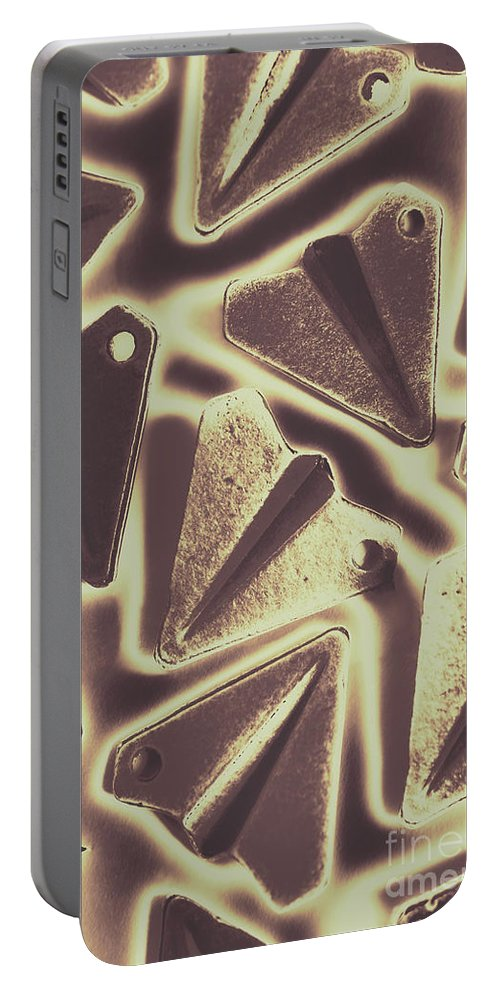 Pattern Portable Battery Charger featuring the photograph In The Fold by Jorgo Photography - Wall Art Gallery