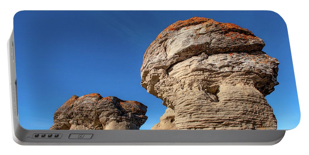 Jerusalem Rocks Portable Battery Charger featuring the photograph Jerusalem Geology by Todd Klassy