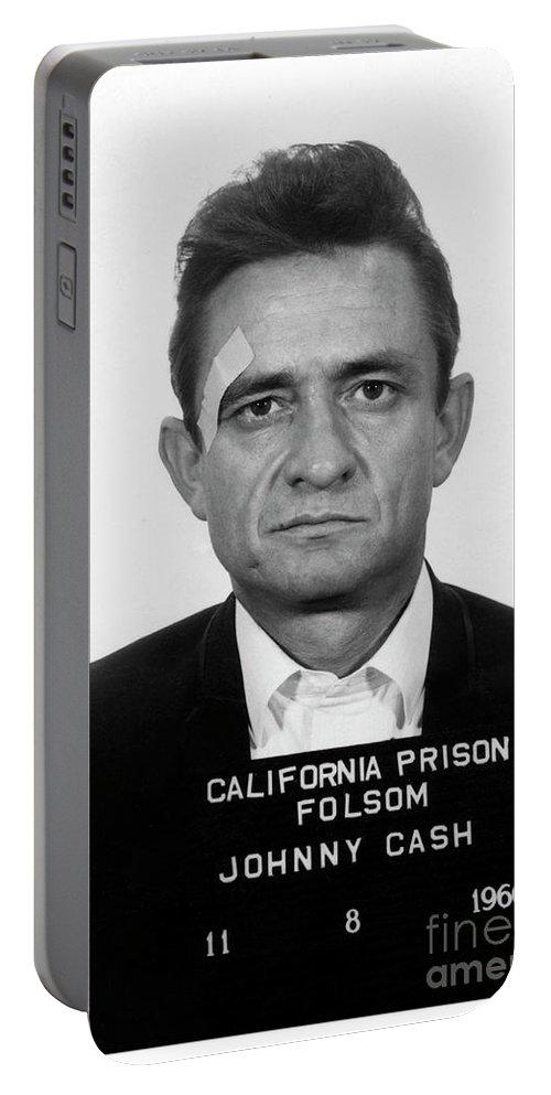 Johnny Cash Mug Shot Photo Poster