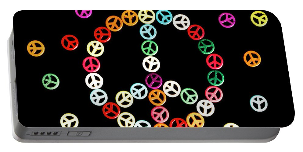 Hippie Portable Battery Charger featuring the photograph Movement Of Unity by Jorgo Photography - Wall Art Gallery
