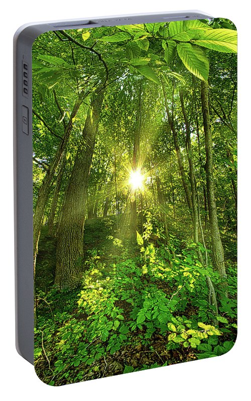 Life Portable Battery Charger featuring the photograph My Secret Place by Phil Koch