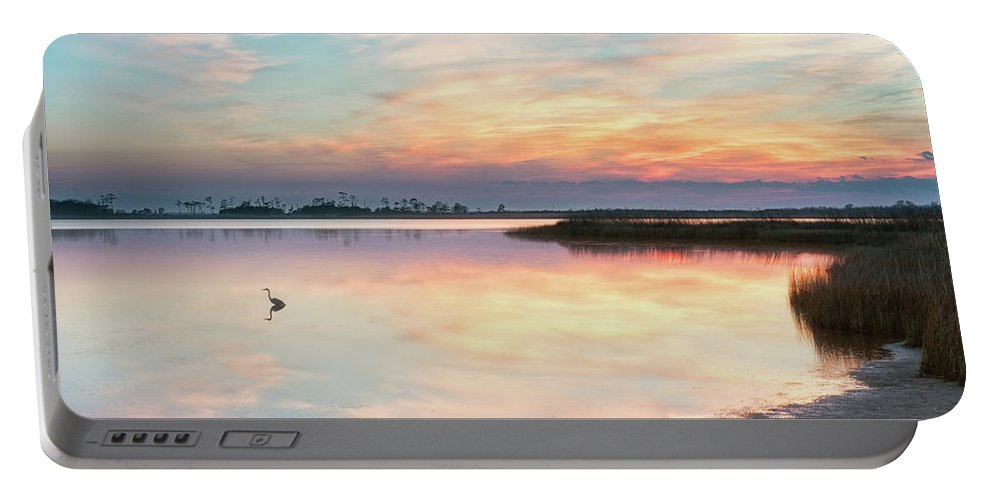 Landscape Portable Battery Charger featuring the photograph Old Blue by Russell Pugh