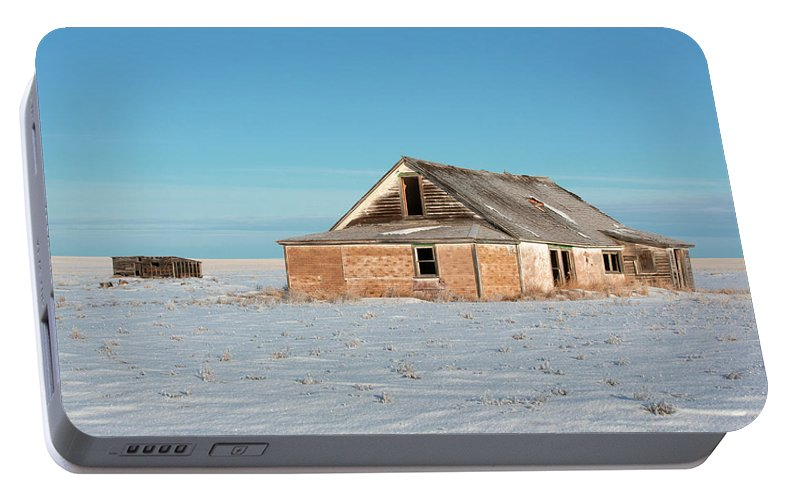 Old Portable Battery Charger featuring the photograph Old Dewald Place by Todd Klassy