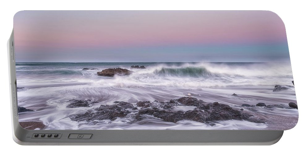 Oregon Coast Portable Battery Charger featuring the photograph Oregon Sunrise by Russell Pugh