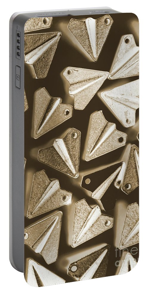 Airplane Portable Battery Charger featuring the photograph Patterned In Aviation by Jorgo Photography - Wall Art Gallery