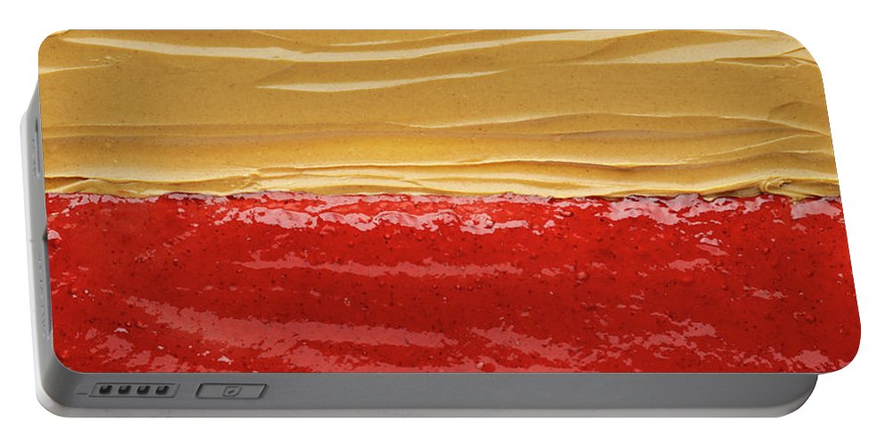 Food Portable Battery Charger featuring the photograph Peanut Butter And Jelly by Steve Gadomski