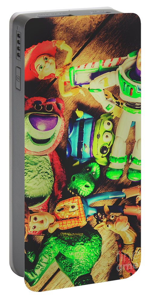 Collectibles Portable Battery Charger featuring the photograph Play In Imagination by Jorgo Photography - Wall Art Gallery