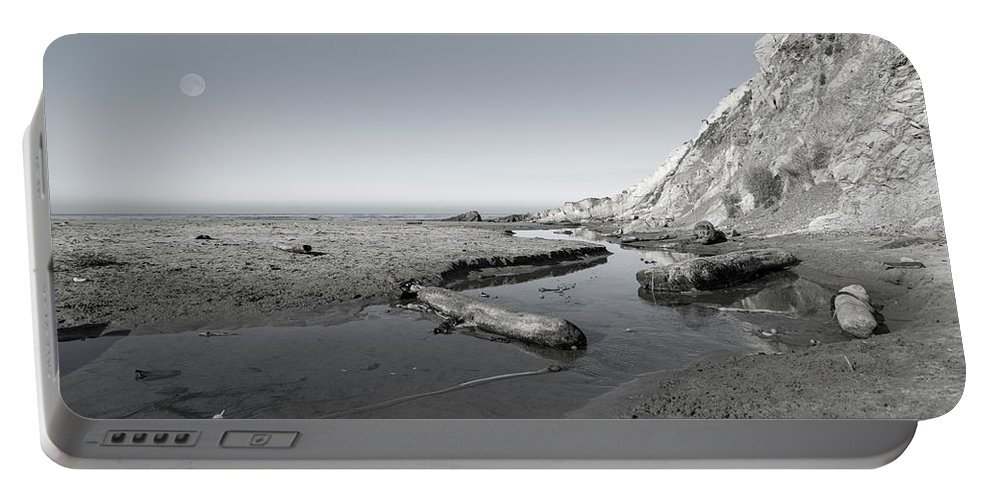 California Portable Battery Charger featuring the photograph Point Arena Beach California by Betsy Knapp