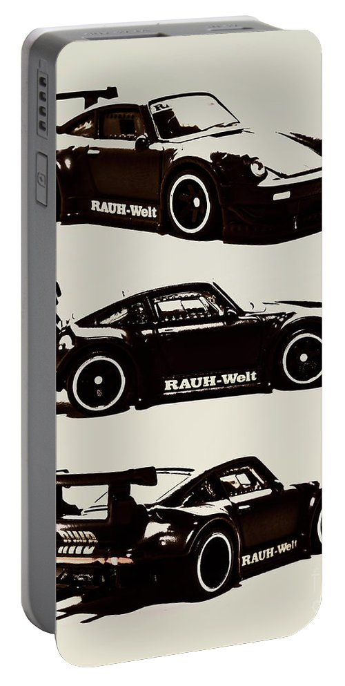 Porsche Portable Battery Charger featuring the photograph Porsche Rwb 930 by Jorgo Photography - Wall Art Gallery