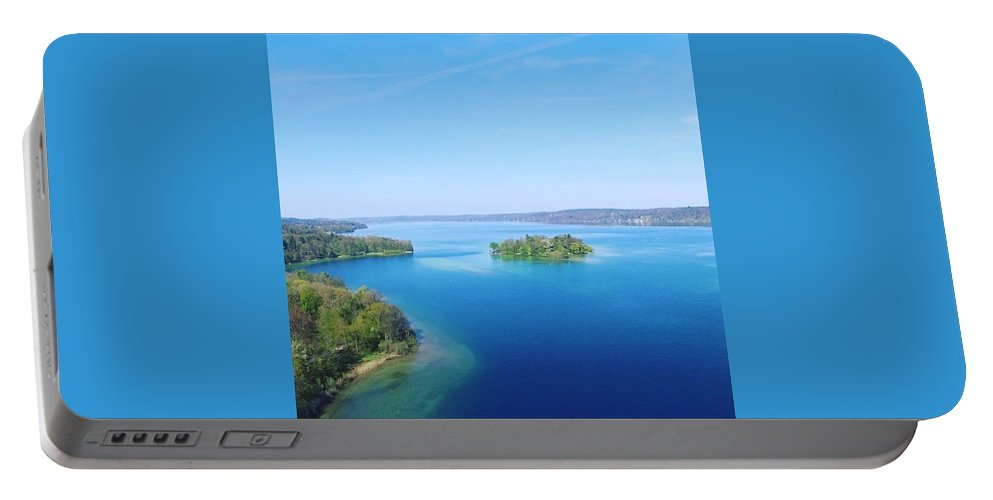 Starnberg Portable Battery Charger featuring the photograph Roseisland by Daniel Hornof