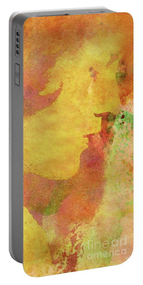 Shades Of You Portable Battery Charger featuring the digital art Shades of You by Kenneth Rougeau