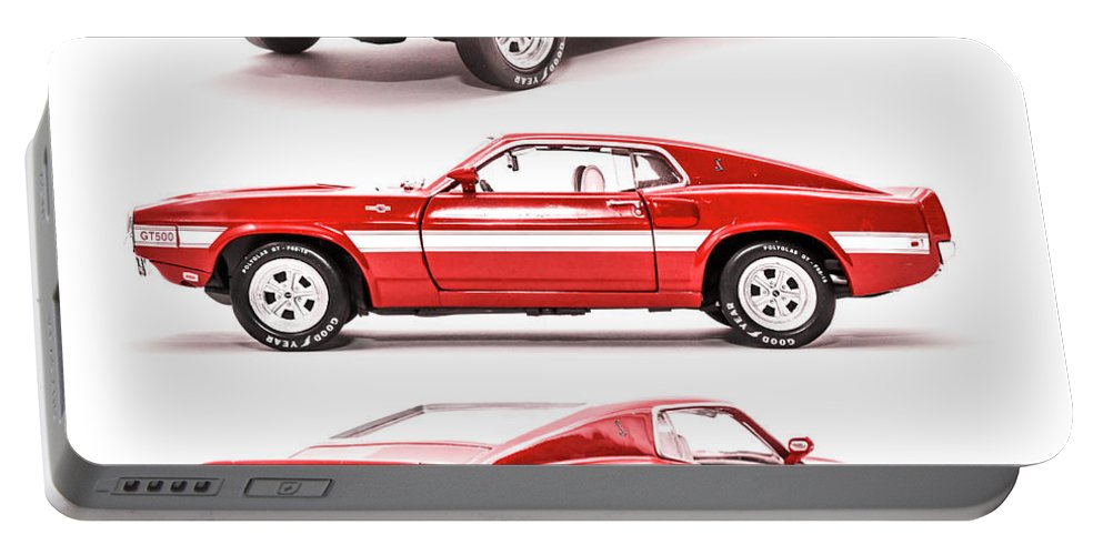 Cars Portable Battery Charger featuring the photograph Shelby Gt500 by Jorgo Photography - Wall Art Gallery