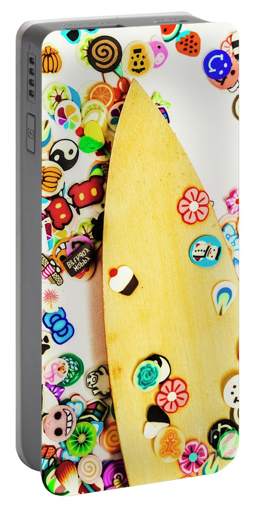 Board Portable Battery Charger featuring the photograph Stuck On Boarding by Jorgo Photography - Wall Art Gallery
