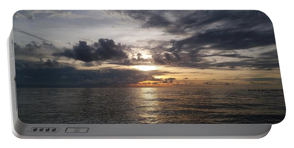 Sunset Portable Battery Charger featuring the photograph Sunset by Cora Jean Jugan