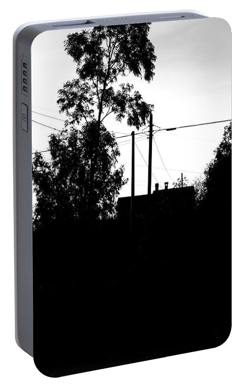 Old House Portable Battery Charger featuring the photograph The Grandma House by Paola Baroni