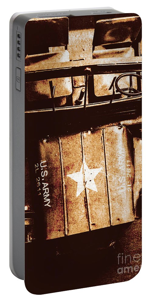 Car Portable Battery Charger featuring the photograph The Old Guard by Jorgo Photography - Wall Art Gallery