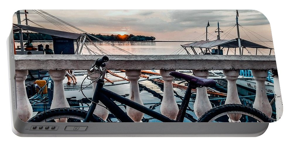 Bike Portable Battery Charger featuring the photograph Traveller's point by Dynz Abejero