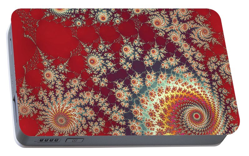 Art Portable Battery Charger featuring the digital art Unity by Ester McGuire