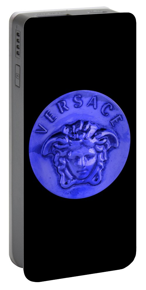 Versace Portable Battery Charger featuring the painting Versace Jewelry-2 by Nikita