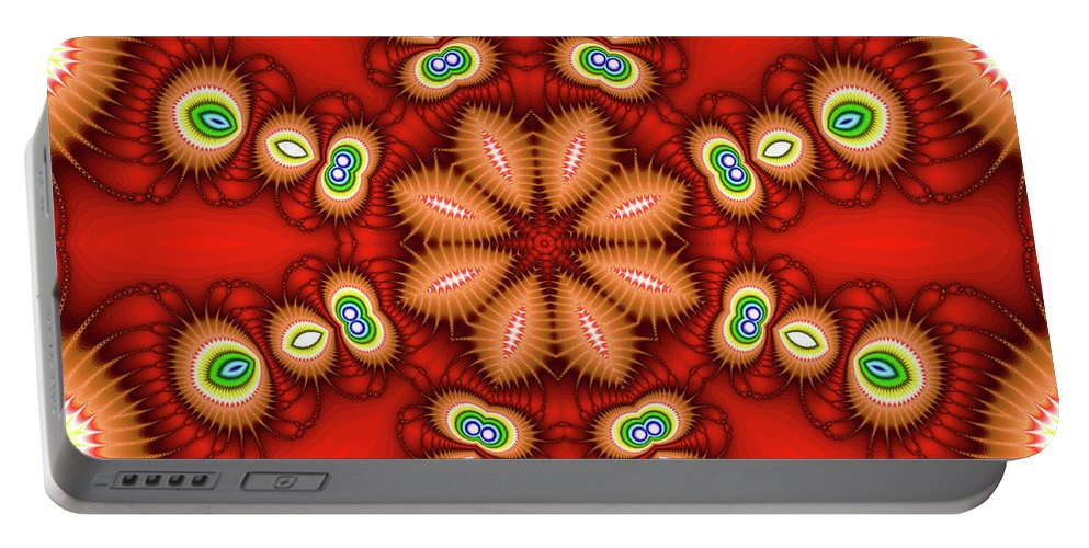 Art Portable Battery Charger featuring the photograph Watcher's Eyes by Ester McGuire