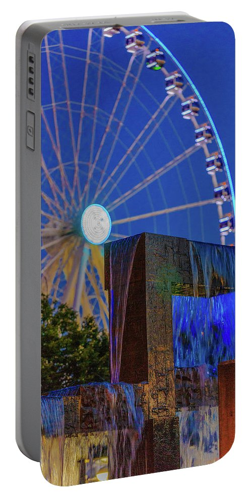 Seattle Portable Battery Charger featuring the photograph Wealthy At Waterfront Park by Scott Campbell