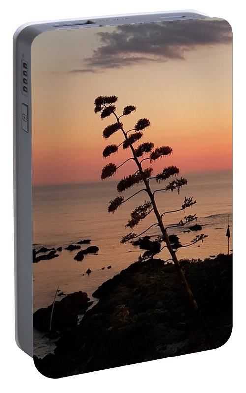Sunset Portable Battery Charger featuring the photograph Wild Sunset by Paola Baroni