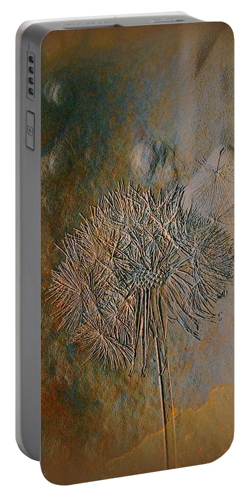 Imprint Art Portable Battery Charger featuring the photograph Imprint by Linda Sannuti