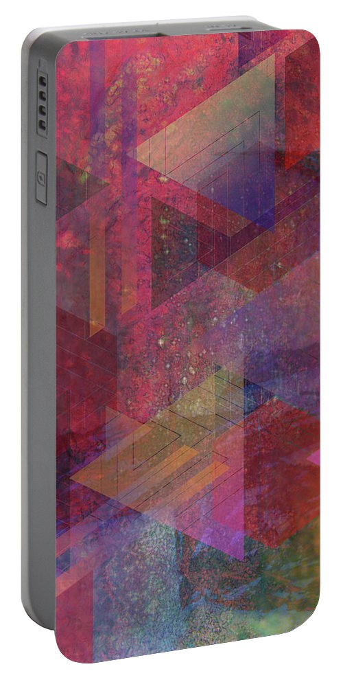 Another Place Portable Battery Charger featuring the digital art Another Place by John Robert Beck