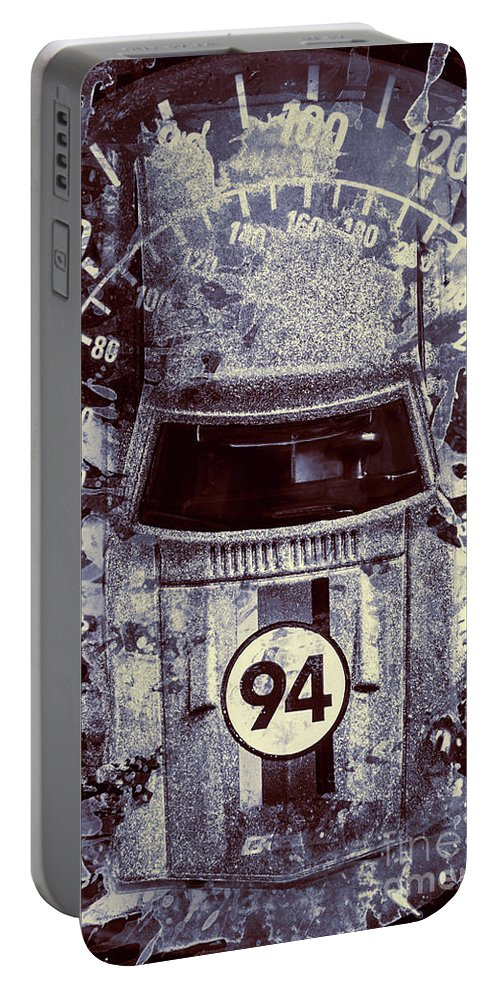 Race Portable Battery Charger featuring the photograph Breaking Ranks by Jorgo Photography - Wall Art Gallery