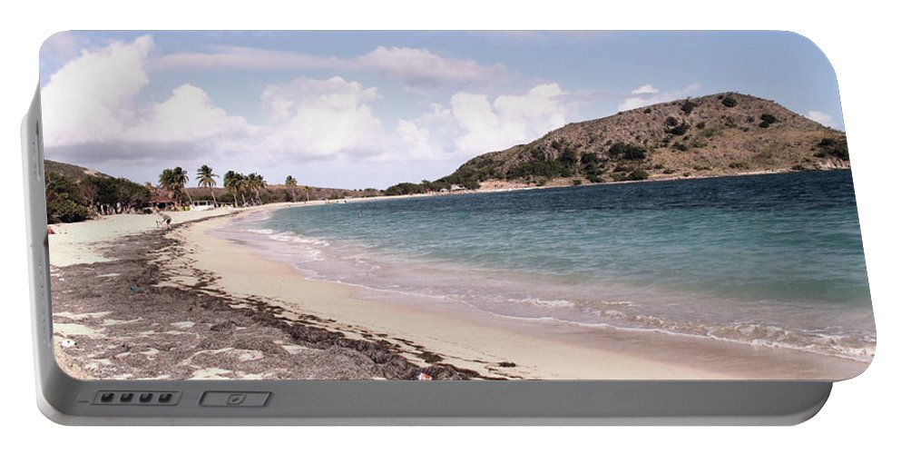 Digital Photo Portable Battery Charger featuring the photograph CockelShell Beach in January by Ian MacDonald
