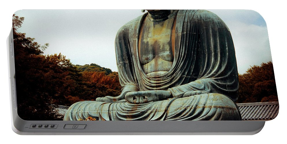 Nate Spotts Portable Battery Charger featuring the photograph Daibutsu by Nathan Spotts