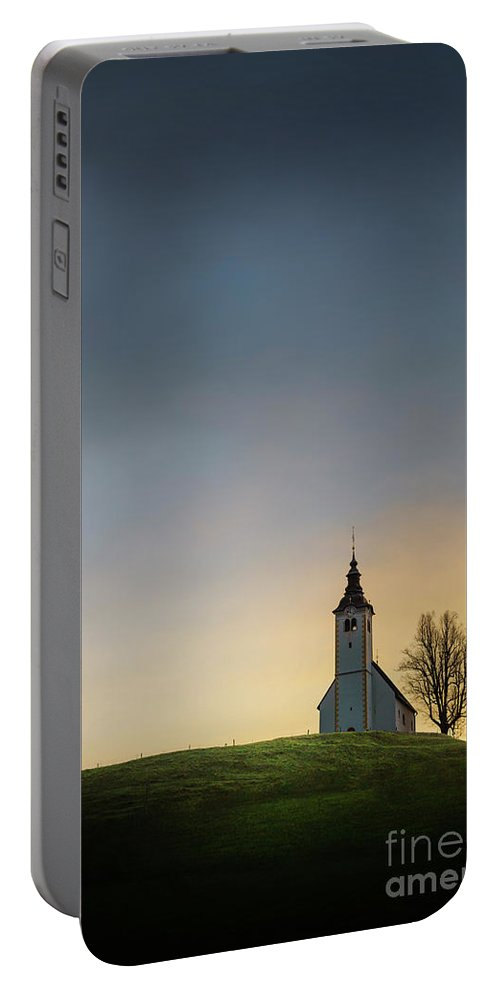 Kremsdorf Portable Battery Charger featuring the photograph Dawn Of Hope by Evelina Kremsdorf