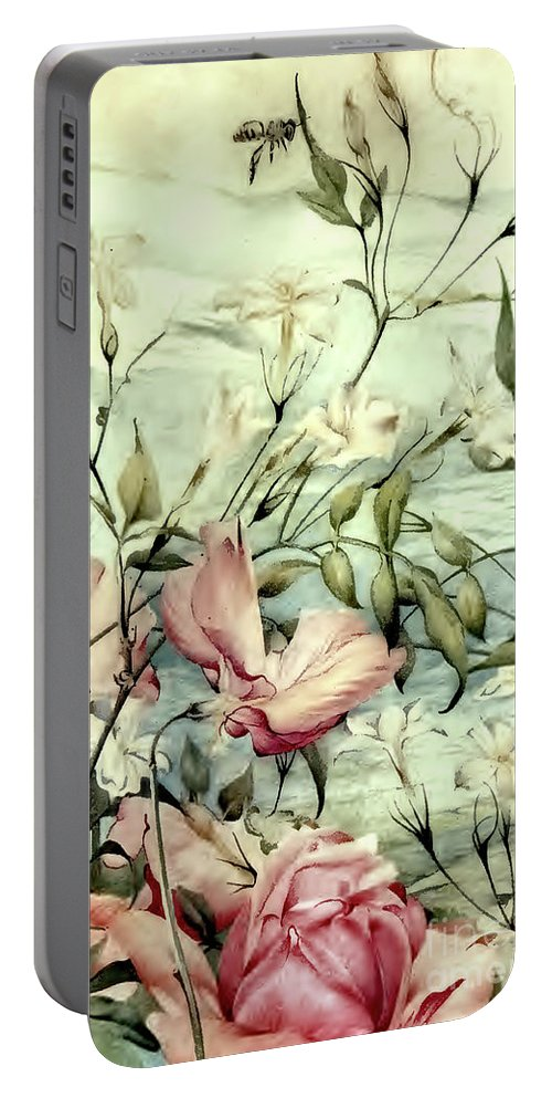 Edward Portable Battery Charger featuring the photograph Detmold Sweet Nature by Munir Alawi