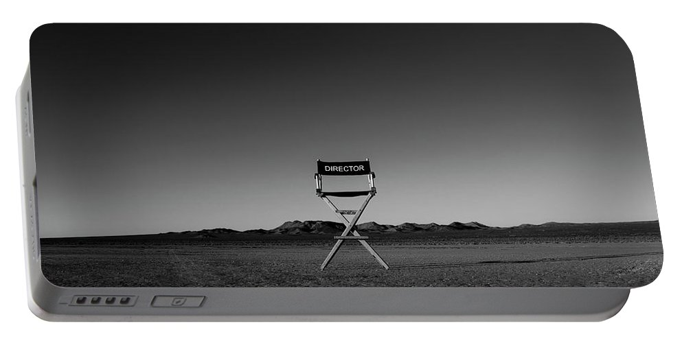 Portable Battery Charger featuring the photograph Director's Cut by Brendan North