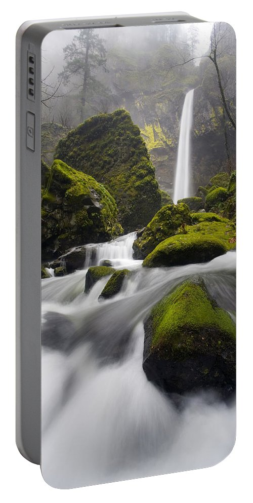 Elowah Portable Battery Charger featuring the photograph Elowah by Mike Dawson