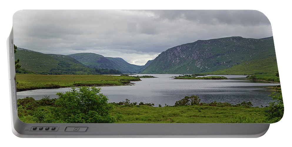 Mountain Portable Battery Charger featuring the photograph Glenveagh National Park by Babett Paul