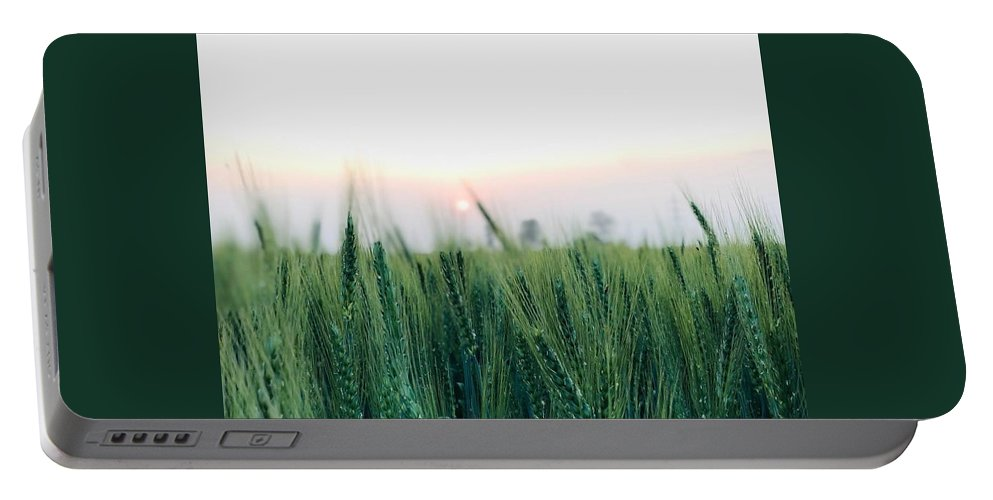 Lanscape Portable Battery Charger featuring the photograph Greenery by Prashant Dalal