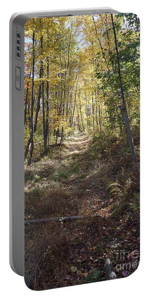 Hidden Trail Portable Battery Charger featuring the photograph Hidden Trail by Chris Naggy