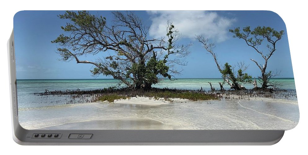 Key West Florida Waters Portable Battery Charger featuring the photograph Key West Waters by Ashley Turner